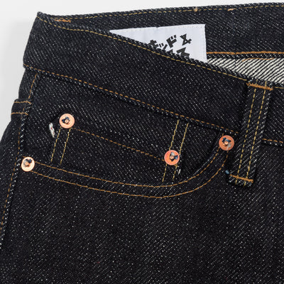 Made In Japan 4 - 21 oz Tenpi Treated Indigo Selvedge