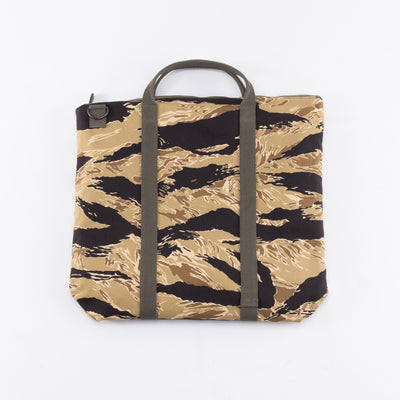 The Real McCoy's Tiger Camouflage Helmet Bag / Gold Tone - Standard & Strange