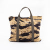 Tiger Camouflage Helmet Bag / Gold Tone