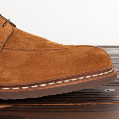 Tournier Shoe - Whisky Suede
