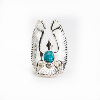 Turquoise Eagle Ring R-CUS-015