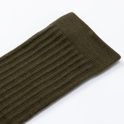 Two Pack Socks - Olive
