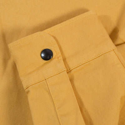 Two Ply Twill Overshirt - Old Yellow