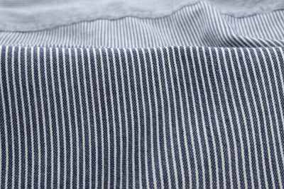 Two Pocket Shirt - Hickory Stripe Cotton