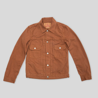 50's Jean Jacket - Orange Duck