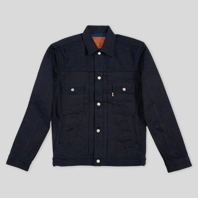 Type 2 Jacket - 13oz Indigo x Indigo