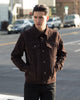 Type 3s Jacket - Chocolate Suede PRE-ORDER