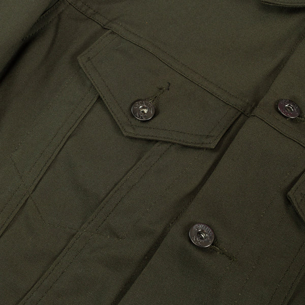 Type 3s Jacket - Olive Duck Canvas