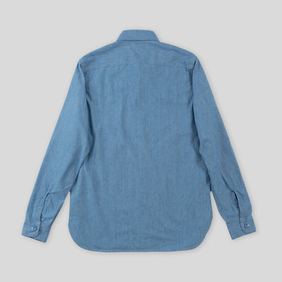 USN Chambray Shirt - Blue