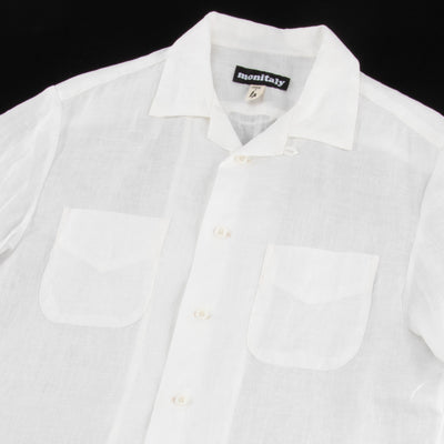 Vacation Shirt - White Linen