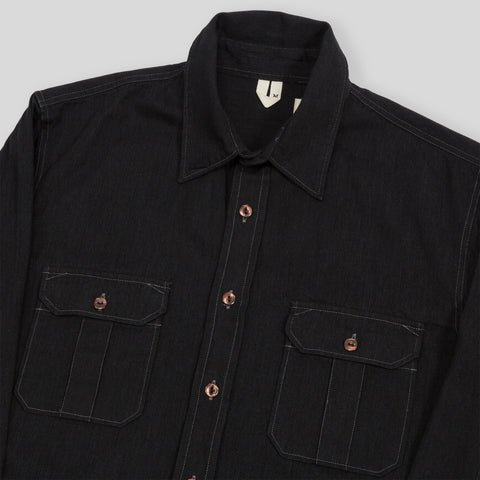 Walton Shirt - Black Denim