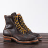 [Pre-order] Limited Warren Boot - Brown Waxed Flesh