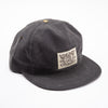 Waxed Wills Hat - Charcoal Waxed Canvas