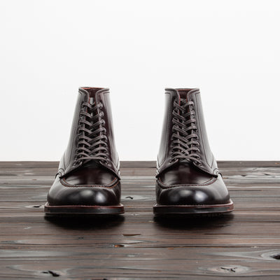 S&S x Alden The Whipsnake - No. 8 Shell Cordovan Moc Toe Boot