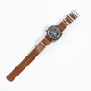 Whiskey Shell Cordovan NATO Strap - 20mm