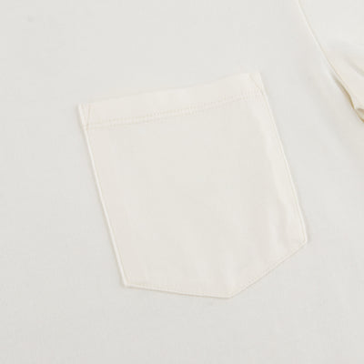 Wilson Pocket Tee - Cockatoo White