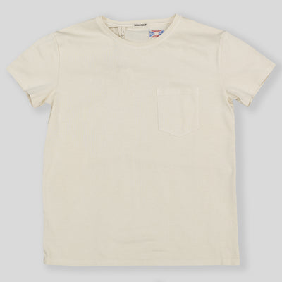 Wilson Pocket Tee - Vintage White