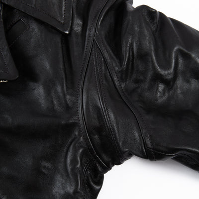 Windward Jacket - Black Horsehide