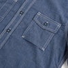 Work Shirt - Indigo Stripe