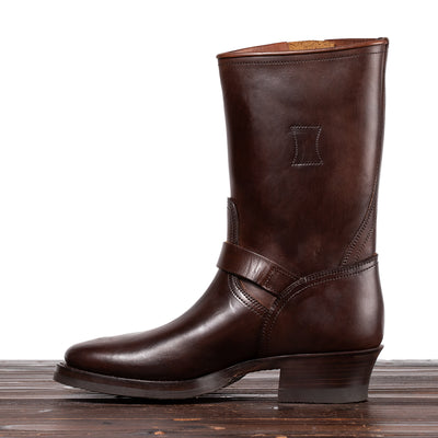 Engineer Boots - Brown Overdyed Horsebutt - CN Wide Last