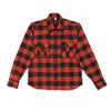 Walton Shirt - Rust/Black Check Flannel