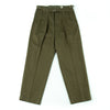 Gurkha Trousers - Light Olive Slubby Sateen