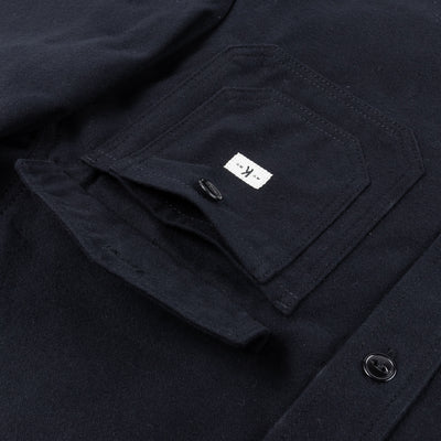 CPO Overshirt - Black Heavyweight Flannel
