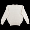 Knickerbocker Mfg Heavy Rib Cotton Knit Sweater - Natural - Standard & Strange