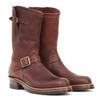 [Pre-order for October 2021 Delivery] Engineer Boots - Burnt Burgundy Ezo Deerskin