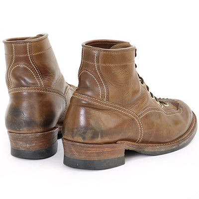 Donkey Puncher Boots - Natural CXL