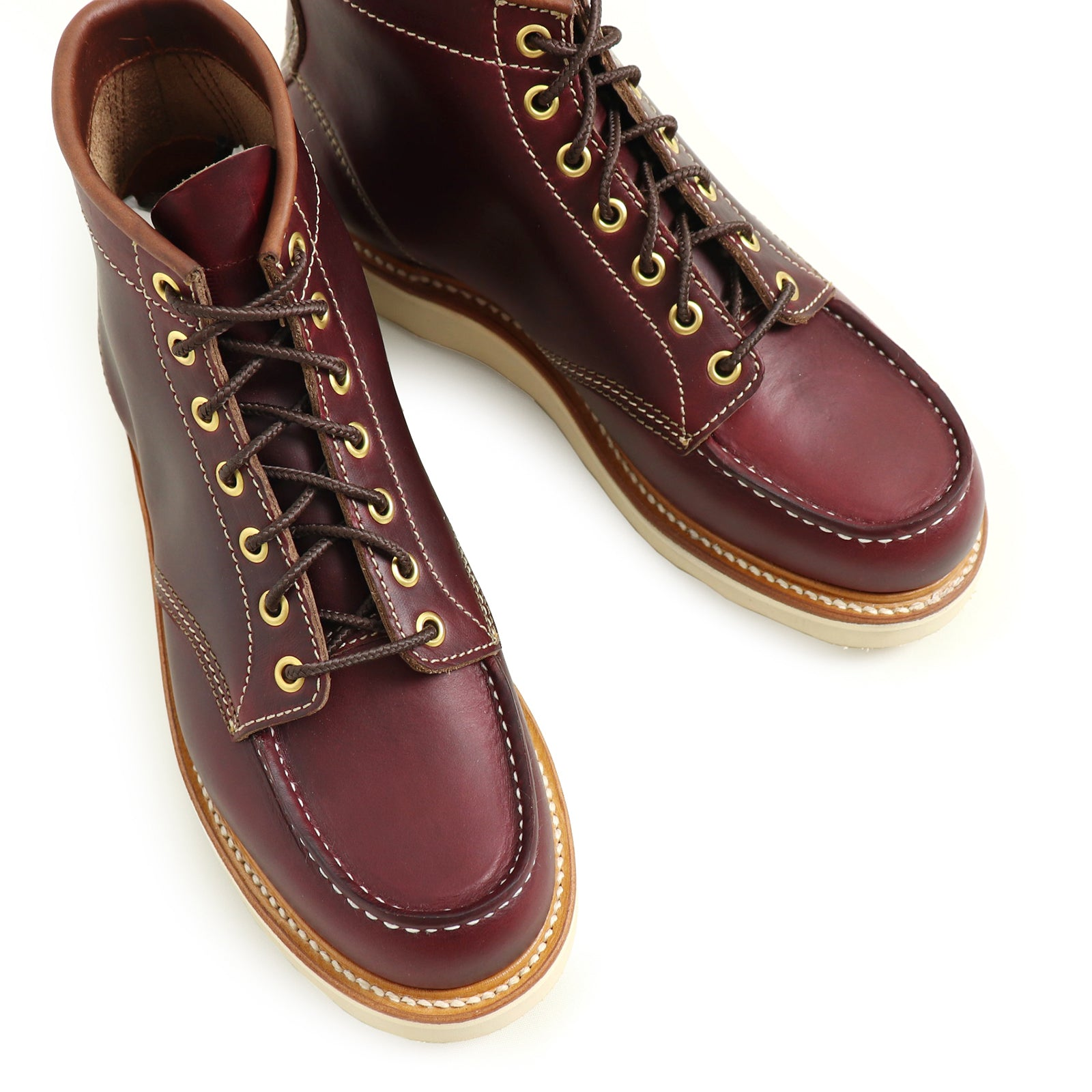 Units commercial leather shoes with leather soles