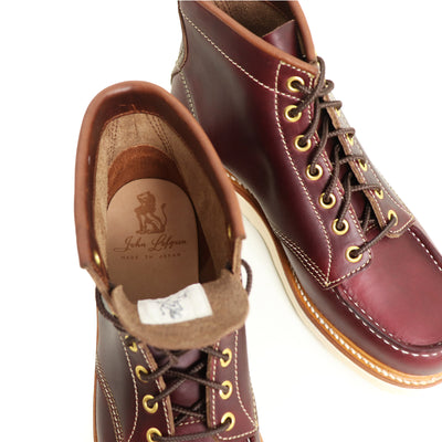 [Pre-order for January 2021 delivery] Moc Toe Boot - Burgundy CXL