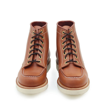 [Pre-order for February 2020 delivery] Moc Toe Boot - Whiskey Cavalier