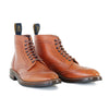 [Pre-order for November 2020 delivery] Brogue Boots - Camel Vacchetta