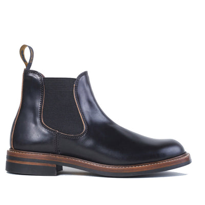 [Pre-order for May 2021 Delivery] Chelsea Boots - Black CXL