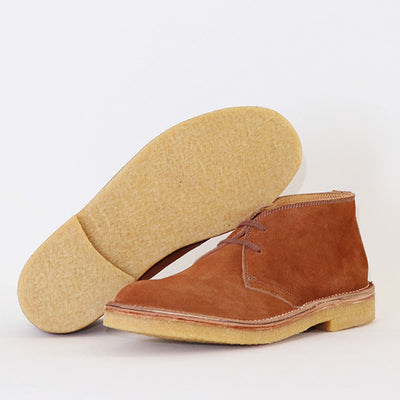 [Pre-order for October 2020 delivery] Desert Boots - Tobacco Suede