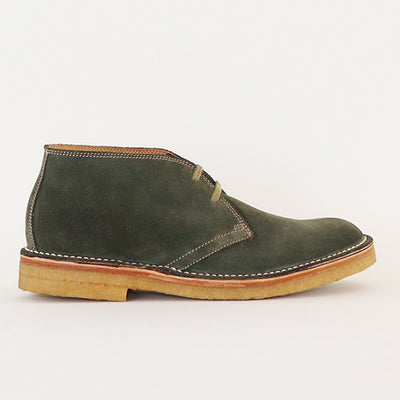 [Pre-order for October 2020 delivery] Desert Boots - Olive Suede
