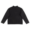 Continuous Mock Neck Sweater - Black
