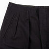 English Trousers - Black Cavalry Twill