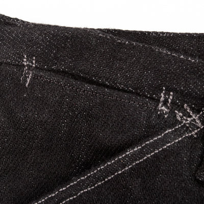 Pantaloon Denim - Looseweave Black/Gray Selvedge