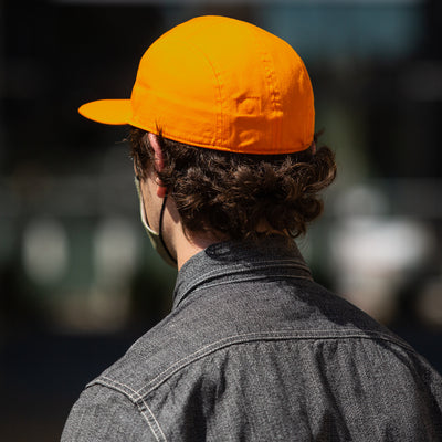 Yeager Cap - Orange Cotton