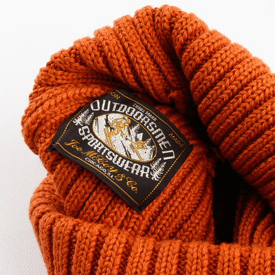 The Real McCoy's Cotton Bronson knit Cap - Orange - Standard & Strange