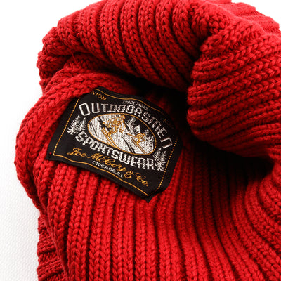 The Real McCoy's Cotton Bronson knit Cap - Red - Standard & Strange