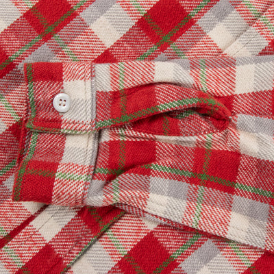 Flannel Shirt - Red Check