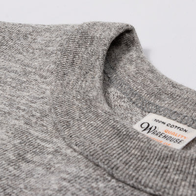 Slub Cotton Longsleeve Tee - Heather Gray