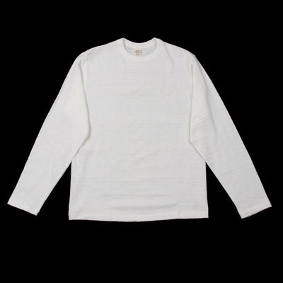 Slub Cotton Longsleeve Tee - Off White