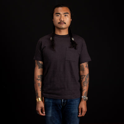 Slub Cotton Pocket Tee - Sumikuro