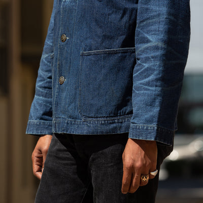 USN Denim Deck Jacket