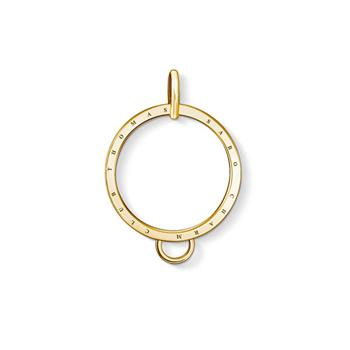 Thomas Sabo Charm Club Yellow Gold Plated Charm Carrier
