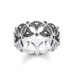 Thomas Sabo Dragon Nights Fan Ring
